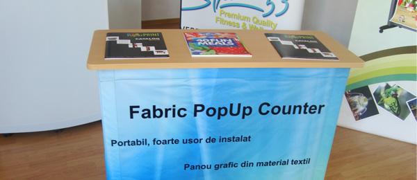 Desk cu Panou Textil