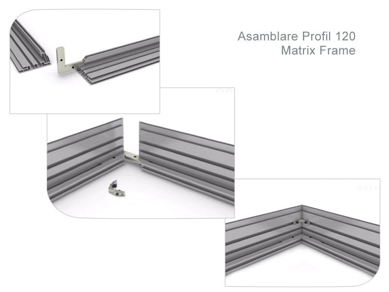 Matrix Frame - Asamblare Profile - SuperPrint   Producator Printuri ...