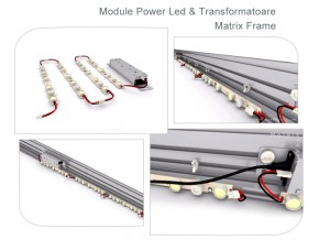 Matrix Frame - Module Power Led si Transformatoare