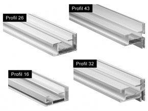 Matrix Frame - Profile Standard Simpla si Dubla Fata