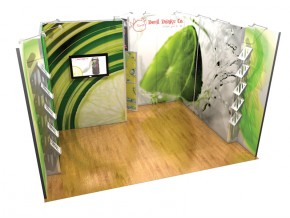 Standuri expozitionale Vector - Milano 5x4m