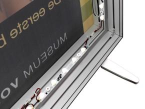 Casete Luminoase cu Bannere Textile - Iluminare LED