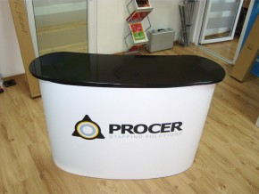 Inchiriere Desk Expozitional PVC