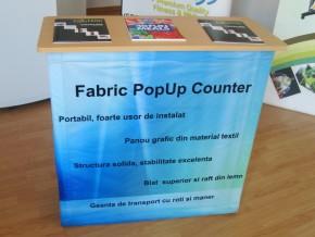 Inchiriere DeskExpozitional Textil