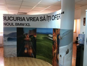 Stand Popup - BMW X3