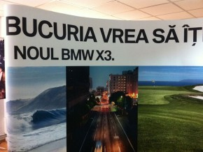 Stand Popup – BMW X3