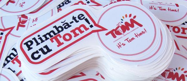Stickere Autocolant – Tom