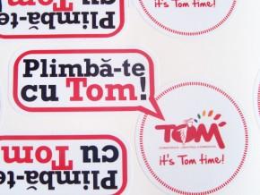 Stickere autocolant - Tom