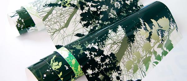 Panouri Dibond decorate cu autocolant