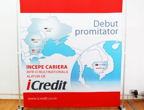Banner Textil Telescopic – iCredit