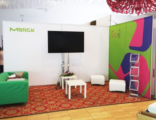 Stand Expozitional – Merck