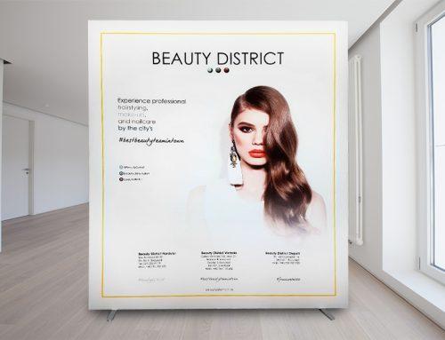 Panou cu Print Textil – Beauty District
