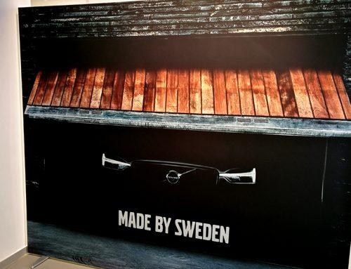 Panou cu Print Textil – Volvo Cars