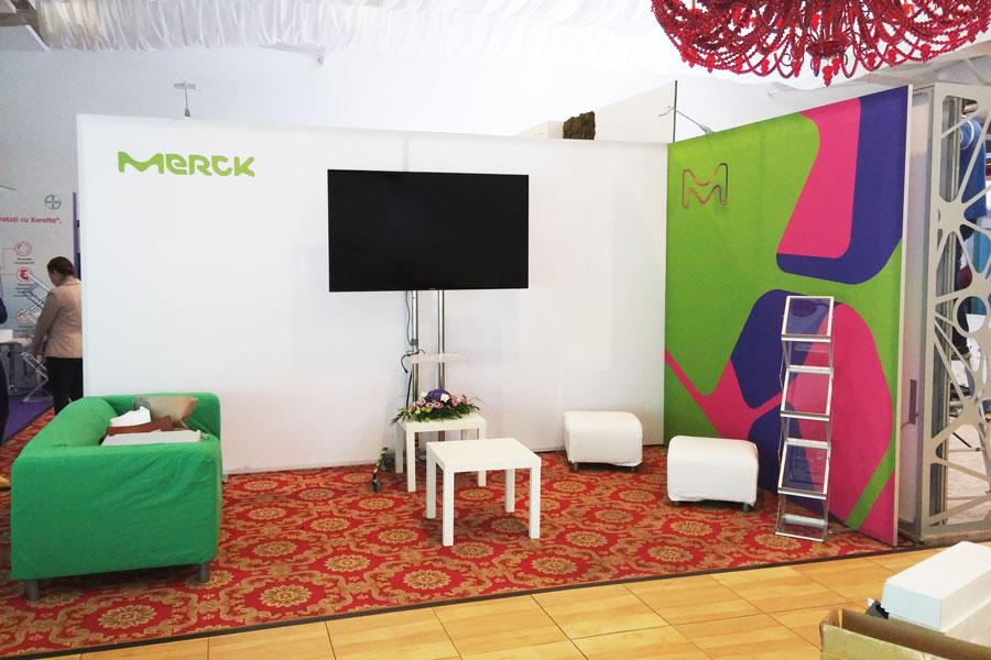 Stand Expozitional – Merck