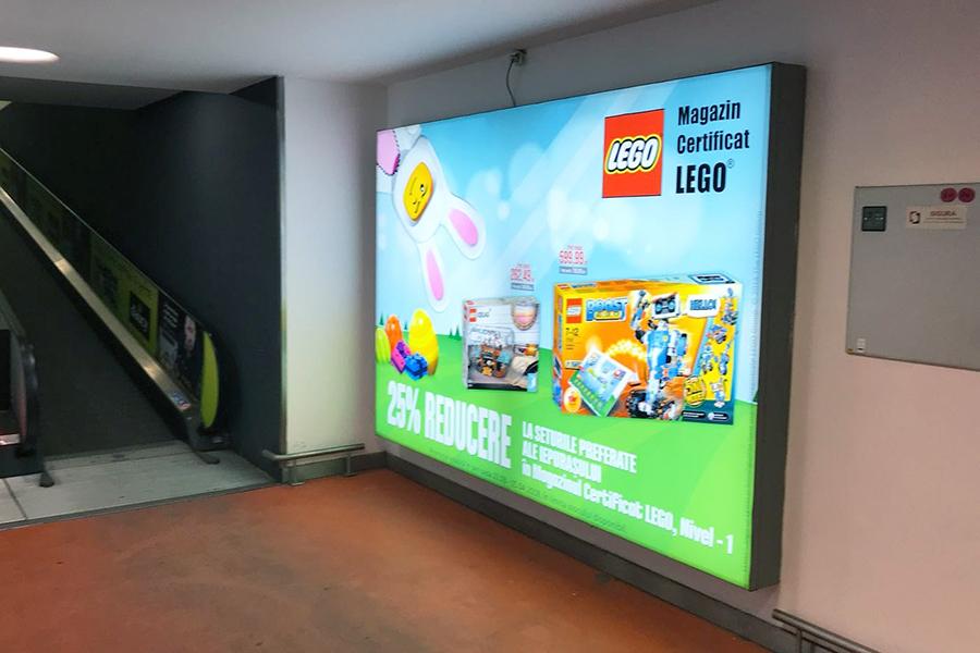 Caseta Luminoasa Backlit Textil – Lego