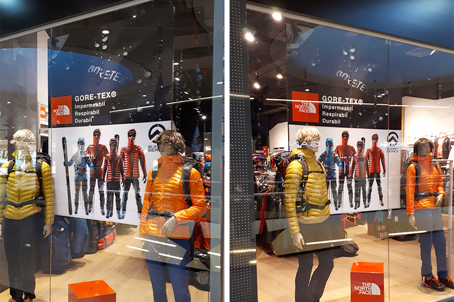 Rame cu Poster Textil – The North Face